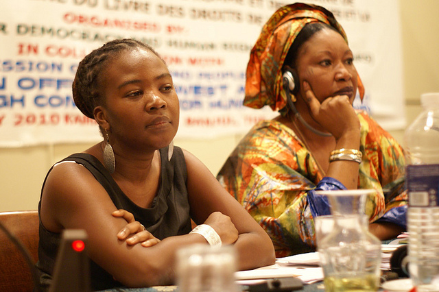 Participants in the NGO ForumCredit: African Centre for Democracy and Human Rights