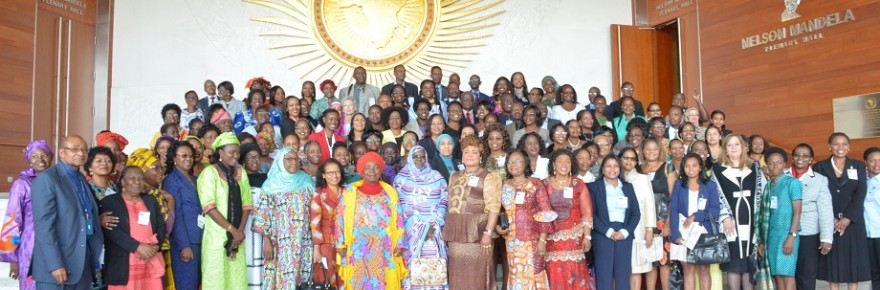 Participants in the 8th African Union Gender Pre-Summit on 2016 African Year of Human Rights, with Particular Focus on the Rights of WomenCredit: AU