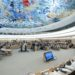 A wide view during the 19th Session Human Rights Council. 15 March 2012. Photo by Jean-Marc FerrŽ