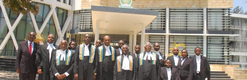 EACJ appellate judges in 2014 (Credit EACJ)