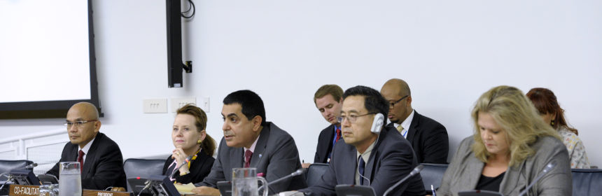"Nassir Abdulaziz Al-Nasser, President of the sixty-sixth session of the General Assembly speaks at Informal meeting of the intergovernmental process on ""Strenghening and enhancing the effective functioning of the human rights treaty body system"""