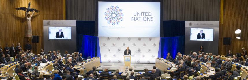 High-Level leaders meet on Refugees