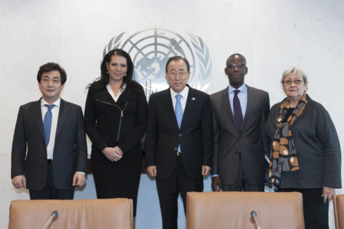 Secretary General meeting with Members of the Coordination Committee of Special Procedures of the Human Rights Council